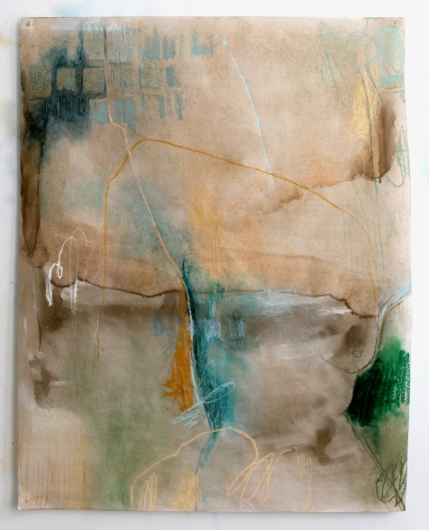 (Not for Sale) Contract - mixed media on vellum - 42x33 - 2011