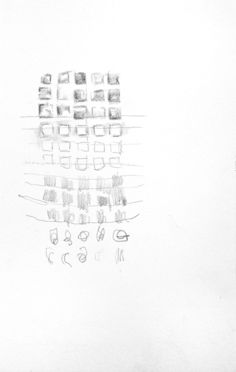 Evolution of the System - graphite on paper - 8x6 inches - 2013